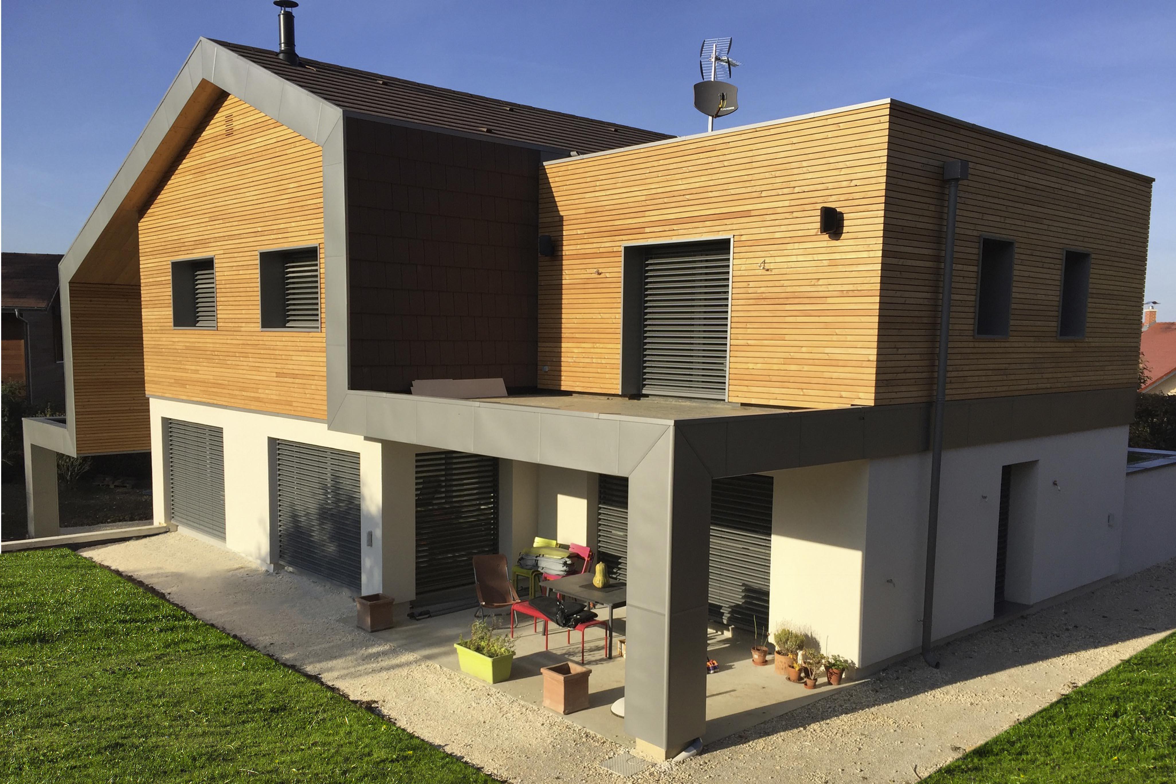 Construction maison contemporaine et moderne en Savoie ...